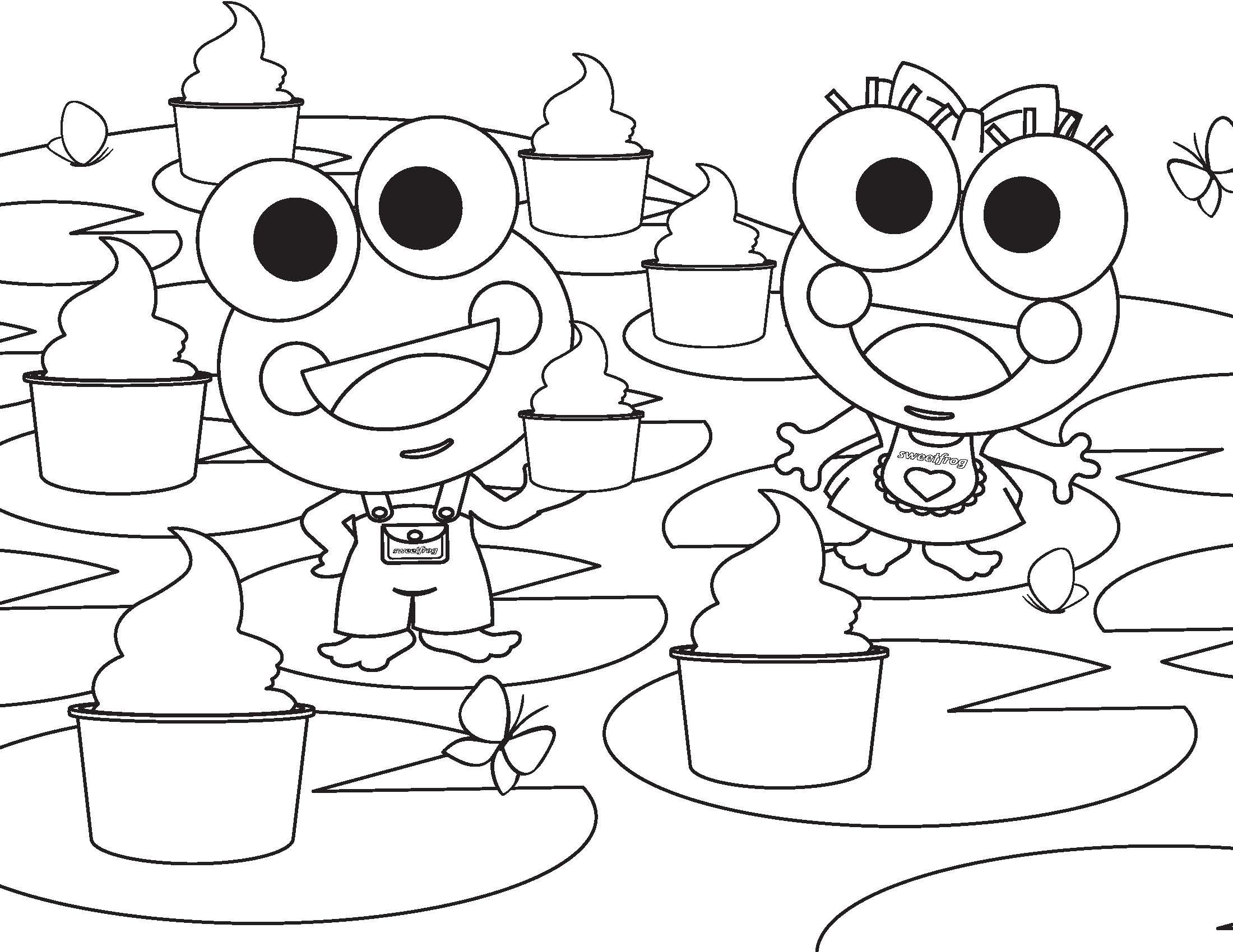 free printable sweet coloring pages - photo#18